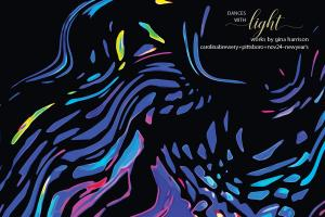 Dances with Light Exhibit at Carolina Brewery during Chatham Artists Guild Tour